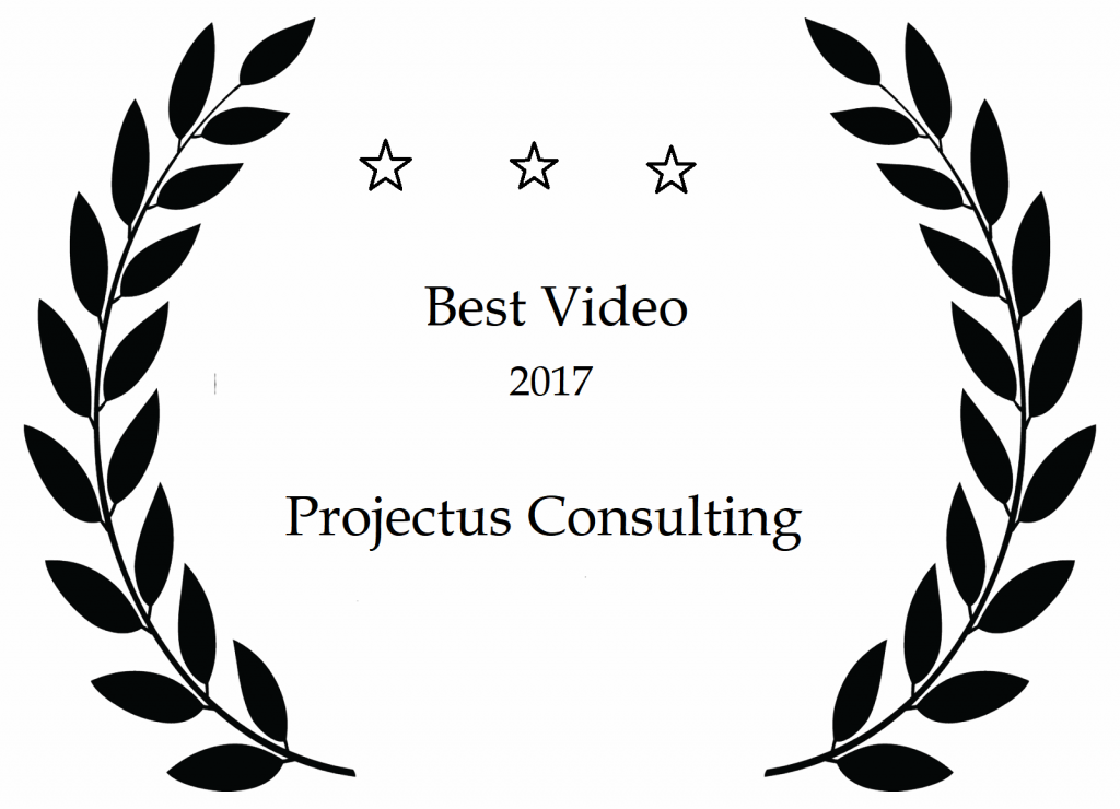 Projectus award mock-up